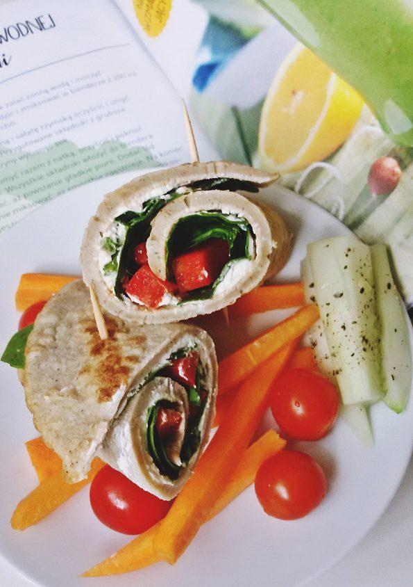 rollsy z warzywami