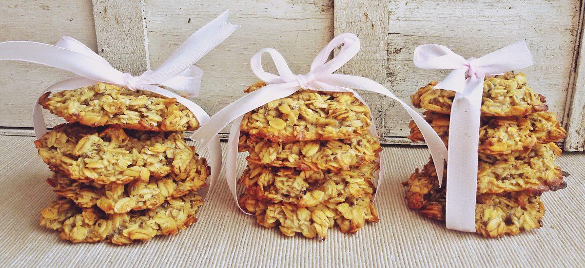 Słodkie ciasteczka owsiane