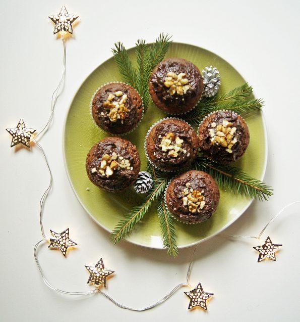 muffinki czekoladowe