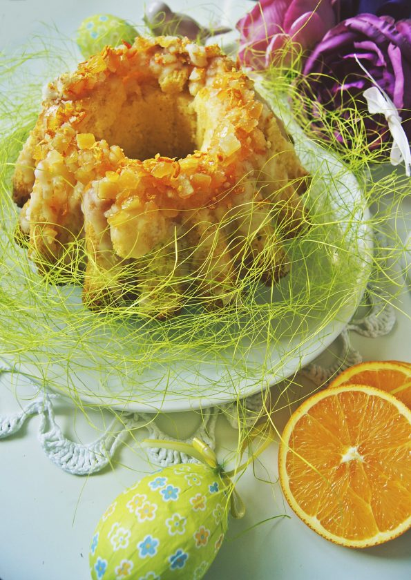 cytrynowa babka piaskowa