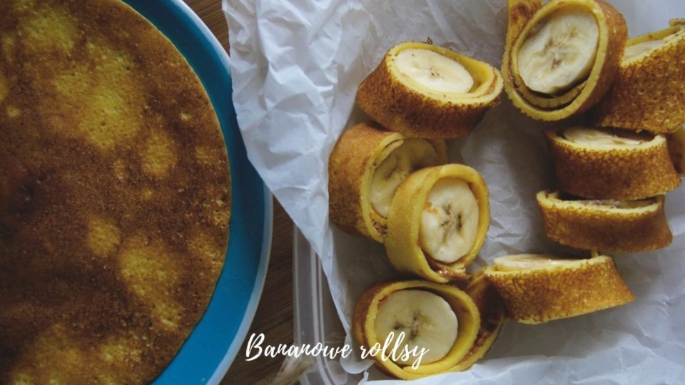 bananowe rollsy-