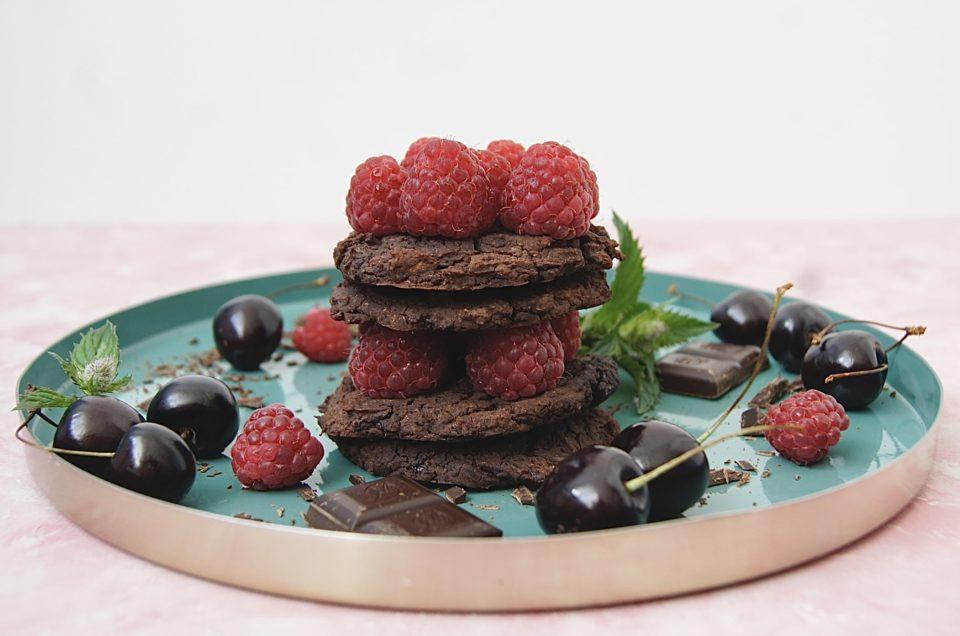 bezglutenowe ciastka z fasoli czerwonej