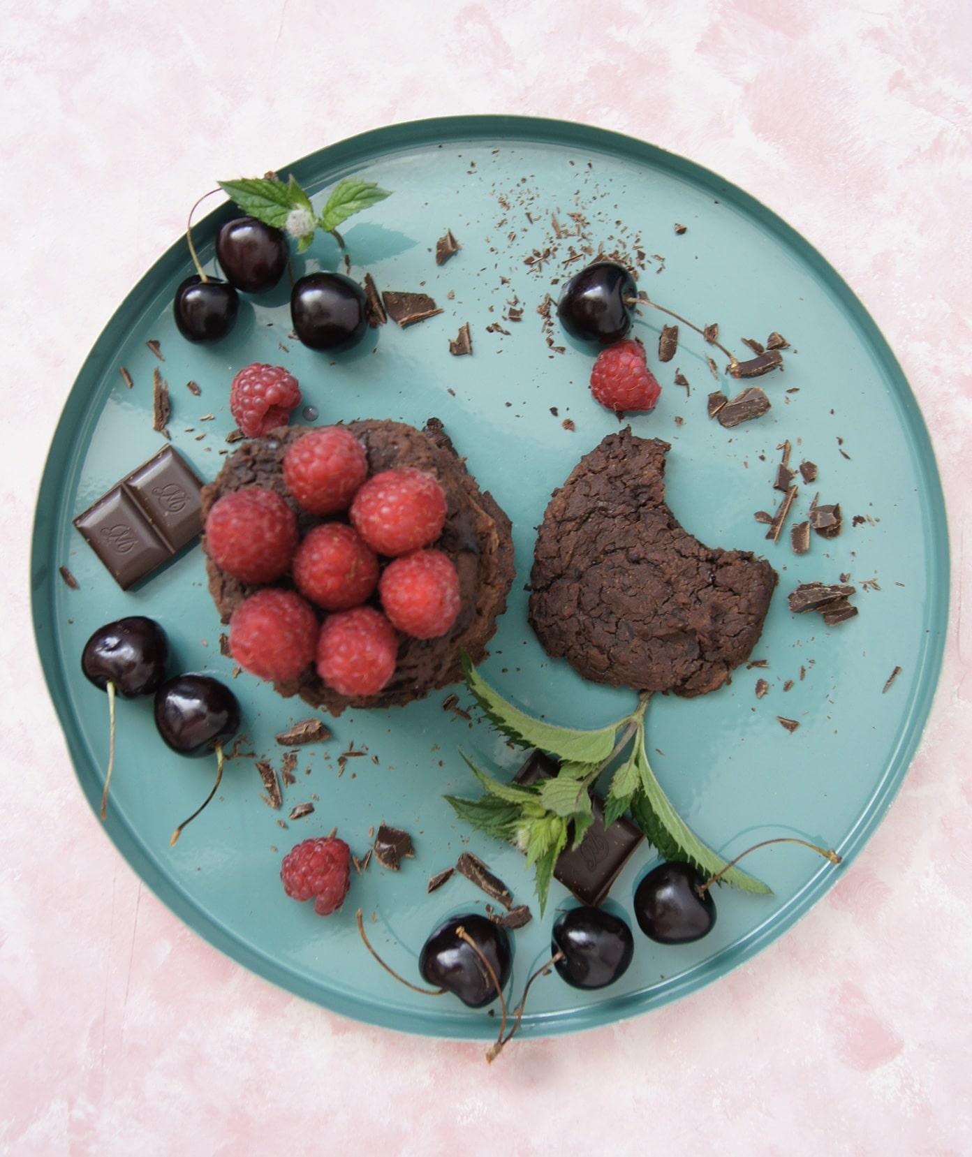 ciasteczka czekoladowe fit