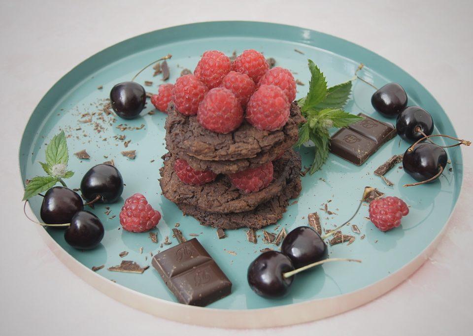 weganskie ciastka czekoladowe