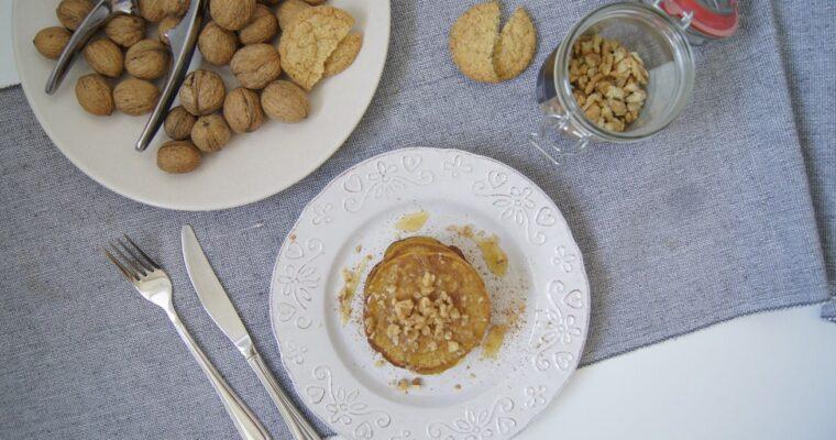 Dyniowe pancakes | Aromatyczne jesienne śniadanie bez cukru